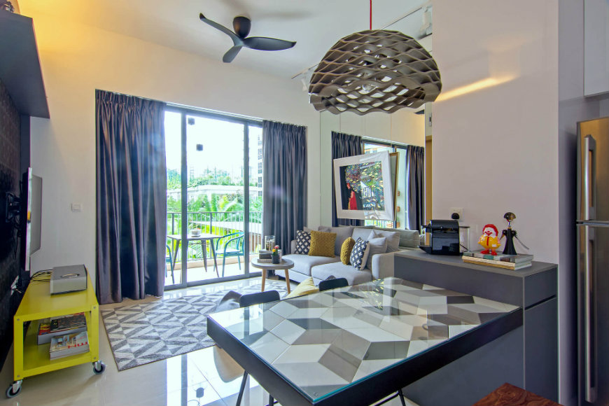 It's Time To Discover This Stylish Apartment In Singapore