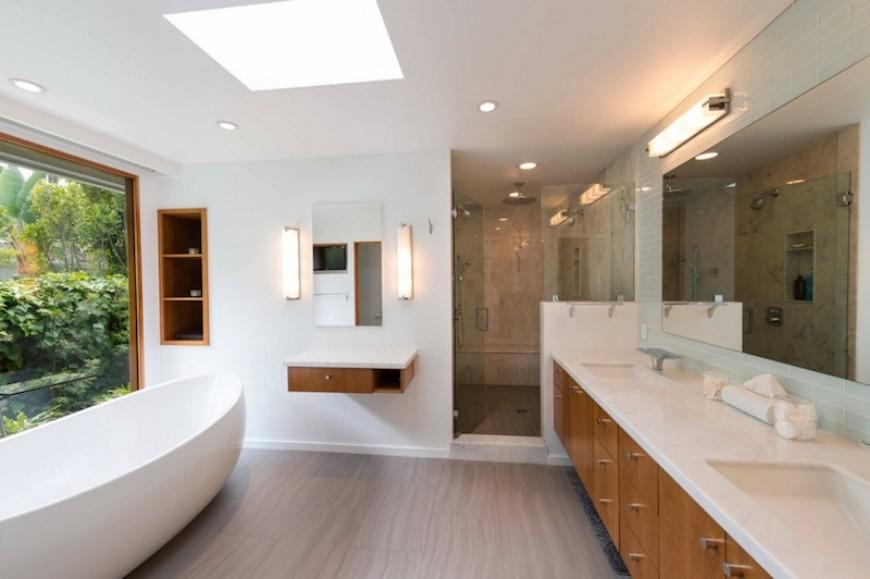 Modern Bathroom Ideas To Create A Clean Look (8) bathroom ideas Modern Bathroom Ideas To Create A Clean Look Modern Bathroom Ideas To Create A Clean Look 8