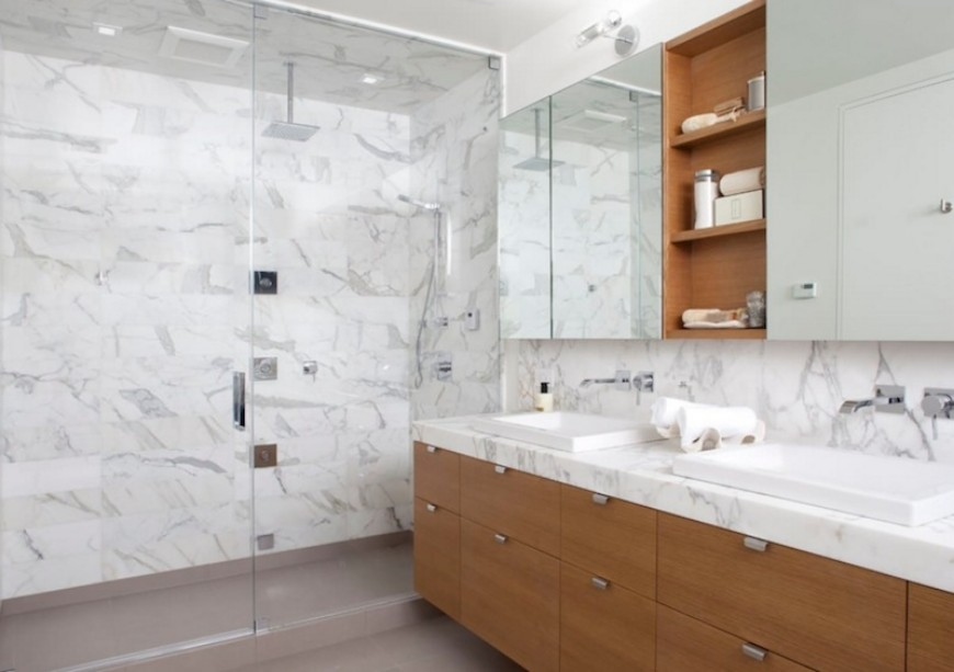 Modern Bathroom Ideas To Create A Clean Look (9) bathroom ideas Modern Bathroom Ideas To Create A Clean Look Modern Bathroom Ideas To Create A Clean Look 9