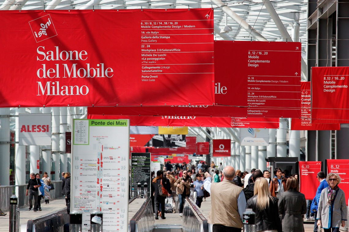 Save the date salone del mobile is coming modern home for Rho fiera salone del mobile