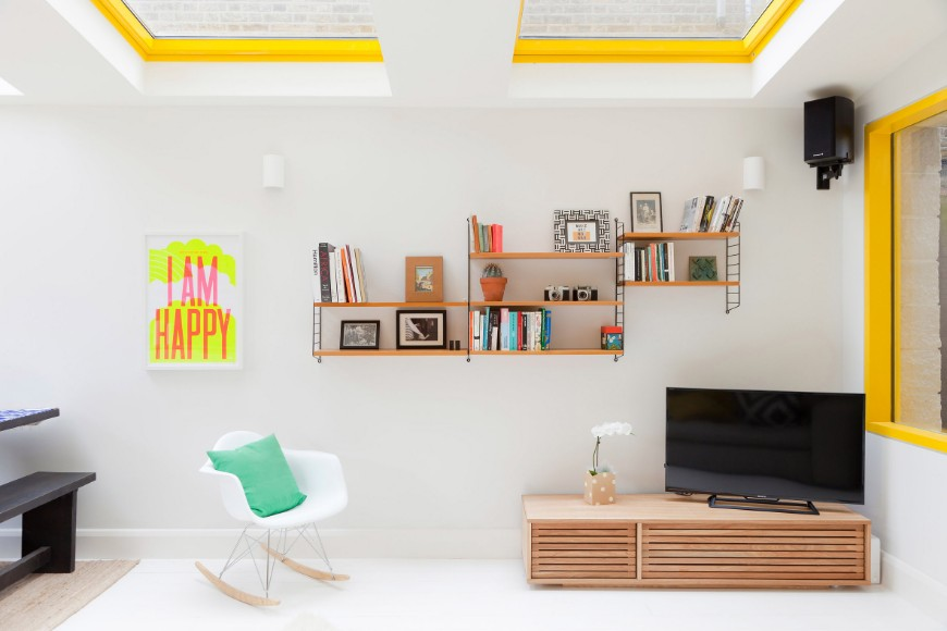 Sunny London Home Add Some Fun To Your Modern Home