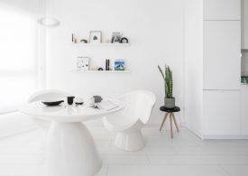 Tel Aviv Small Apartment In An All-White Colour Palette small apartment Tel Aviv Small Apartment In An All-White Colour Palette Tel Aviv Small Apartment In An All White Colour Palette 275x195
