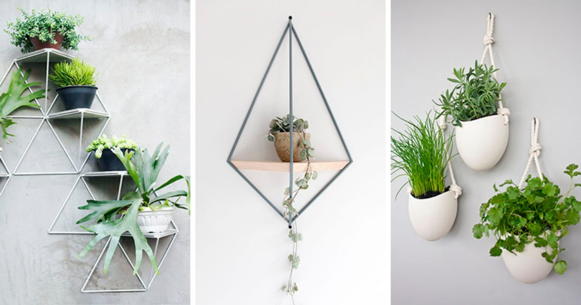 10 Modern Wall Mounted Plant Holders To Decorate Bare Walls (5) modern wall 10 Modern Wall Mounted Plant Holders To Decorate Bare Walls 10 Modern Wall Mounted Plant Holders To Decorate Bare Walls 5