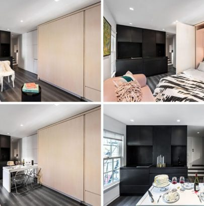This Small Modern Apartment Has A Wall Of Hidden Uses (6) modern apartment This Small Modern Apartment Has A Wall Of Hidden Uses This Small Modern Apartment Has A Wall Of Hidden Uses 6 405x410