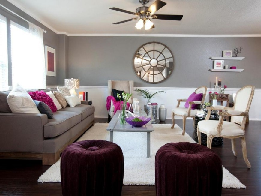 Trendy Color Schemes To Decorate Your Living Room