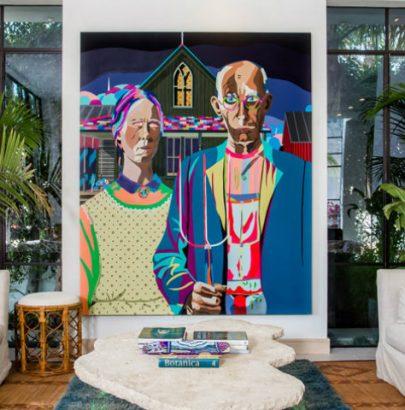 Tropical Paradise a unique interior design house