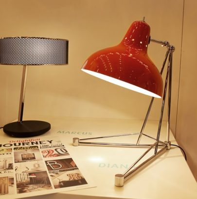 Unique Table Lamps For Your Vintage Industrial Style Decor