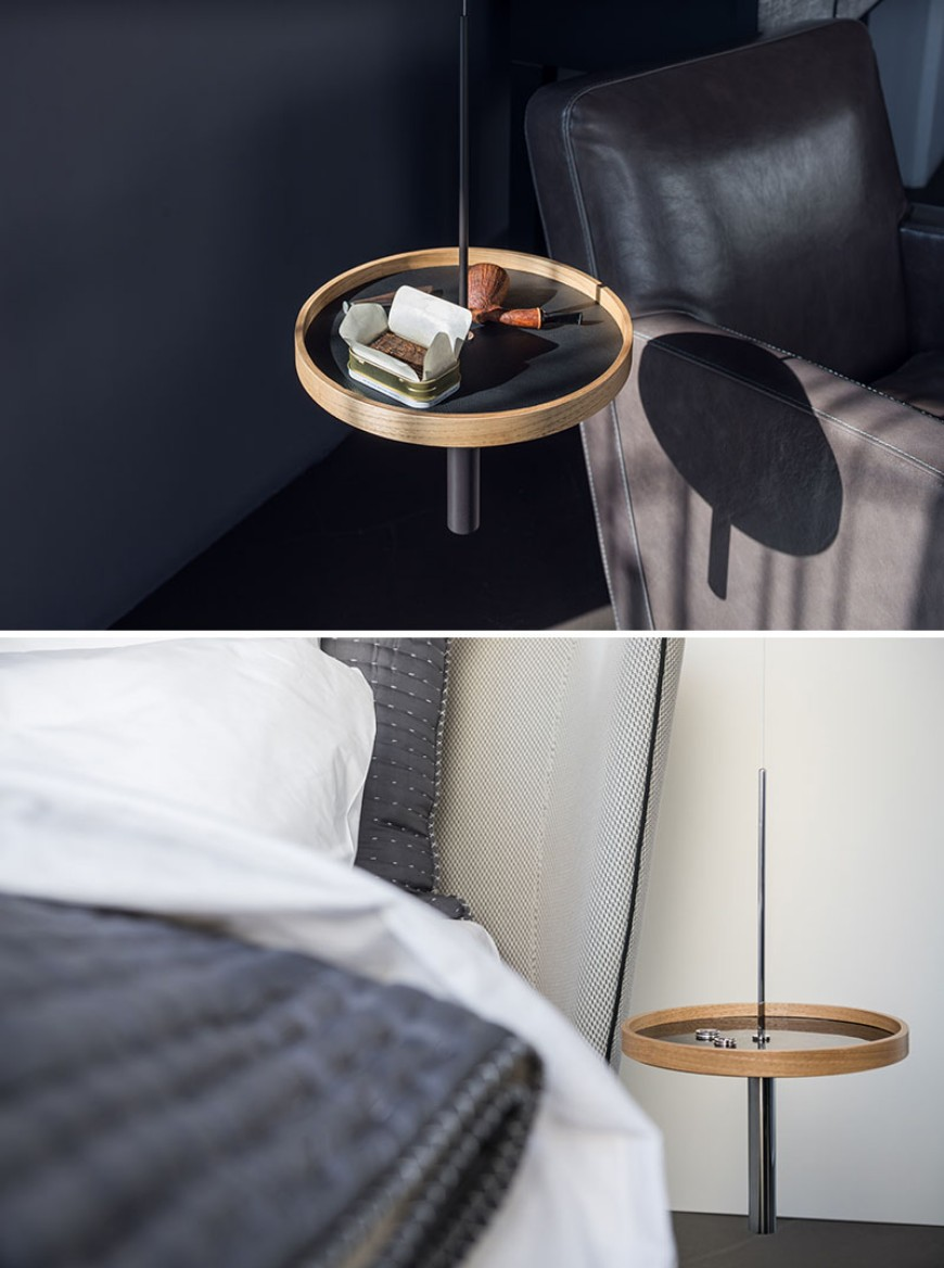 A Dramatic Suspended Side Table For Your Home Decor