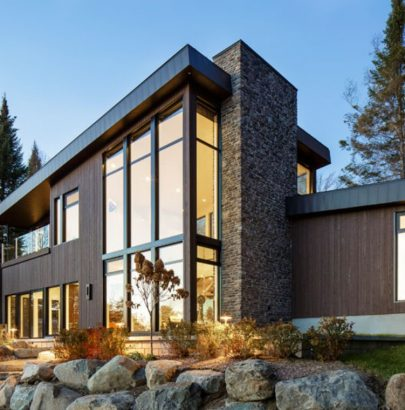 Around the World: Modern Lake House in Canada lake house Around the World: Modern Lake House in Canada Around the World Modern Lake House in Canada 4 405x410