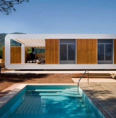 Contemporary Prefab Home in Spain prefab home Contemporary Prefab Home in Spain Contemporary Prefab Home 2 405x410