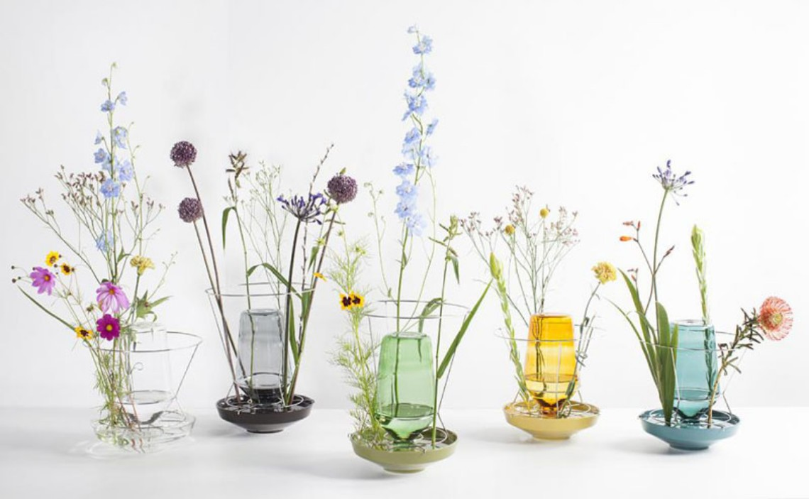 Find These Colorful Glass Vases For Your Home Decor