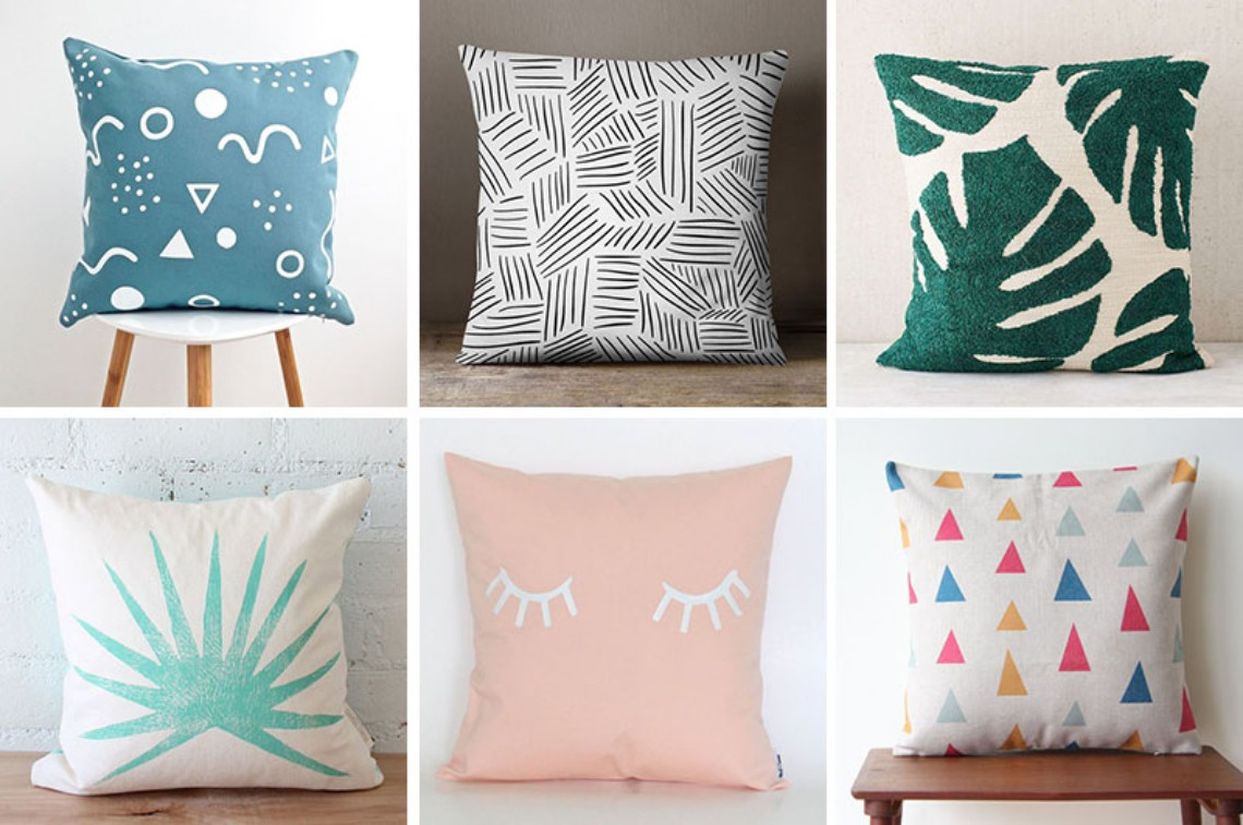 Home Decor Idea: Colorful Pillows for your Modern Home