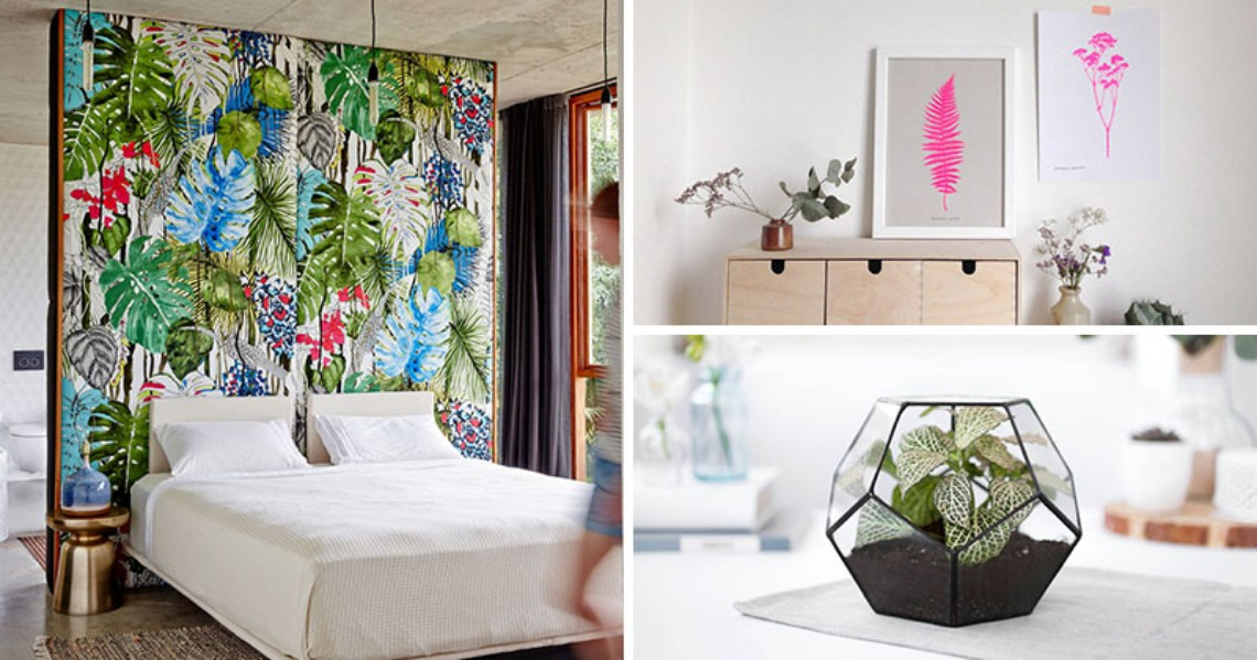 How Introduce Botanical Design Into Your Modern Home Decor