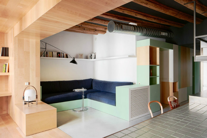 Modern home vivienda particular in barcelona modern home - Maison decor barcelona ...