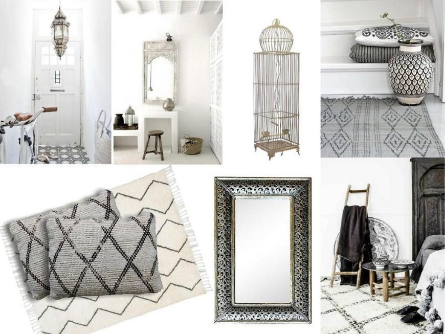 Mood Board Moroccan Style In Interior Design Modern