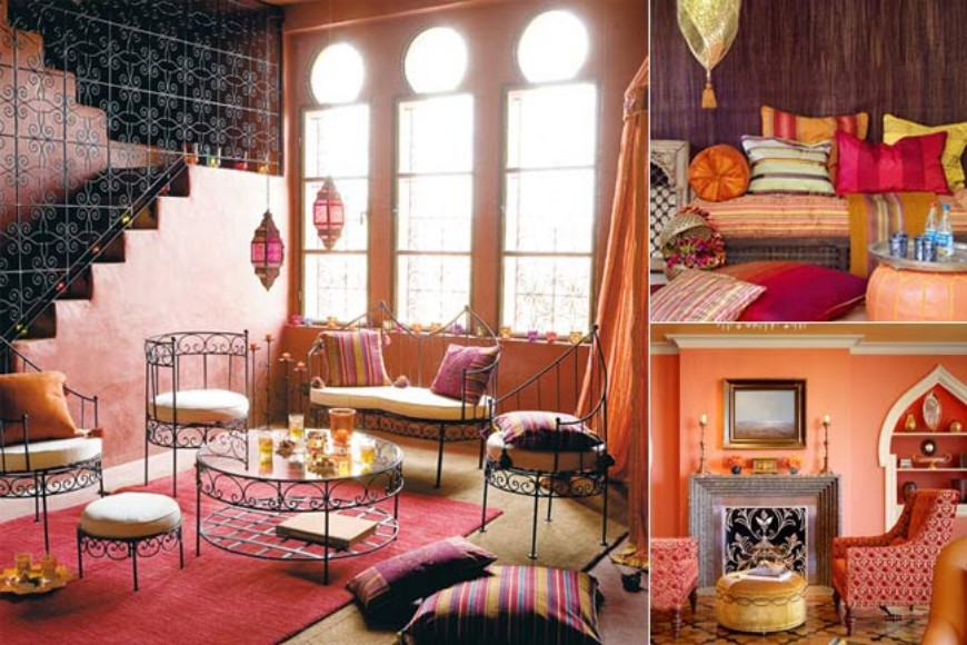 Mood Board: Moroccan Style in Interior Design | Modern Home Decor