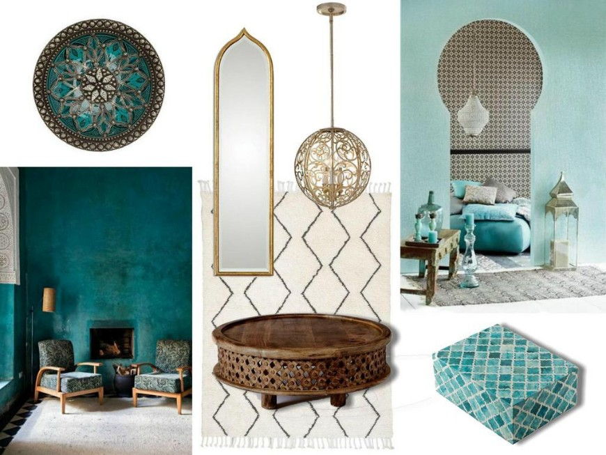 Moroccan Bathroom Decor Ideas