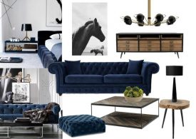 Mood Board: Velvet is the New Black in Home Decor!