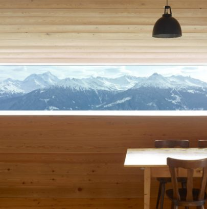 Swiss Alps Gaudin Modern House