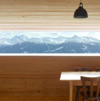 Swiss Alps Gaudin Modern House