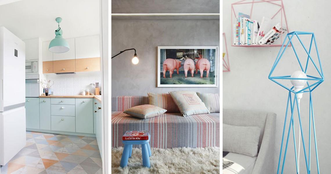 Pastel Trend Should Be your Next Interior Design