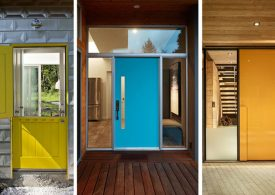 Brighten Up your Modern Home with Colorful Doors modern home Brighten Up your Modern Home with Colorful Doors Brighten Up your Modern Home with Colorful Doors 275x195