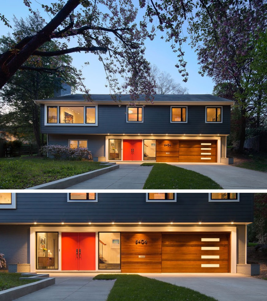 modern home Brighten Up your Modern Home with Colorful Doors Brighten Up your Modern Home with Colorful Doors 3