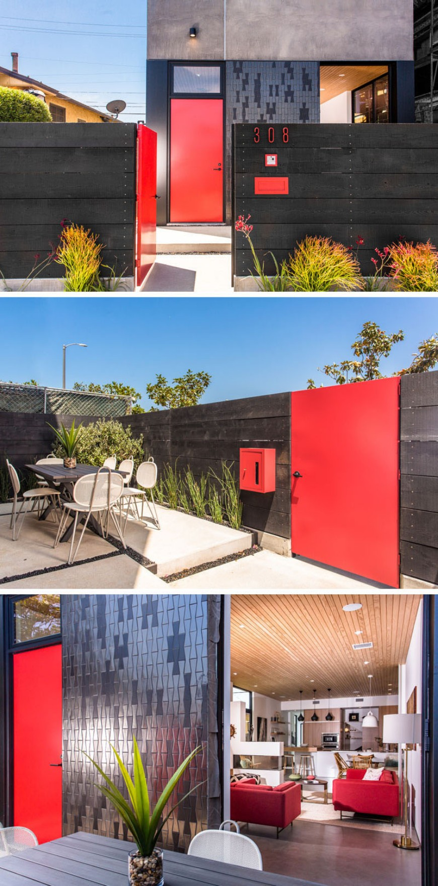 modern home Brighten Up your Modern Home with Colorful Doors Brighten Up your Modern Home with Colorful Doors 4
