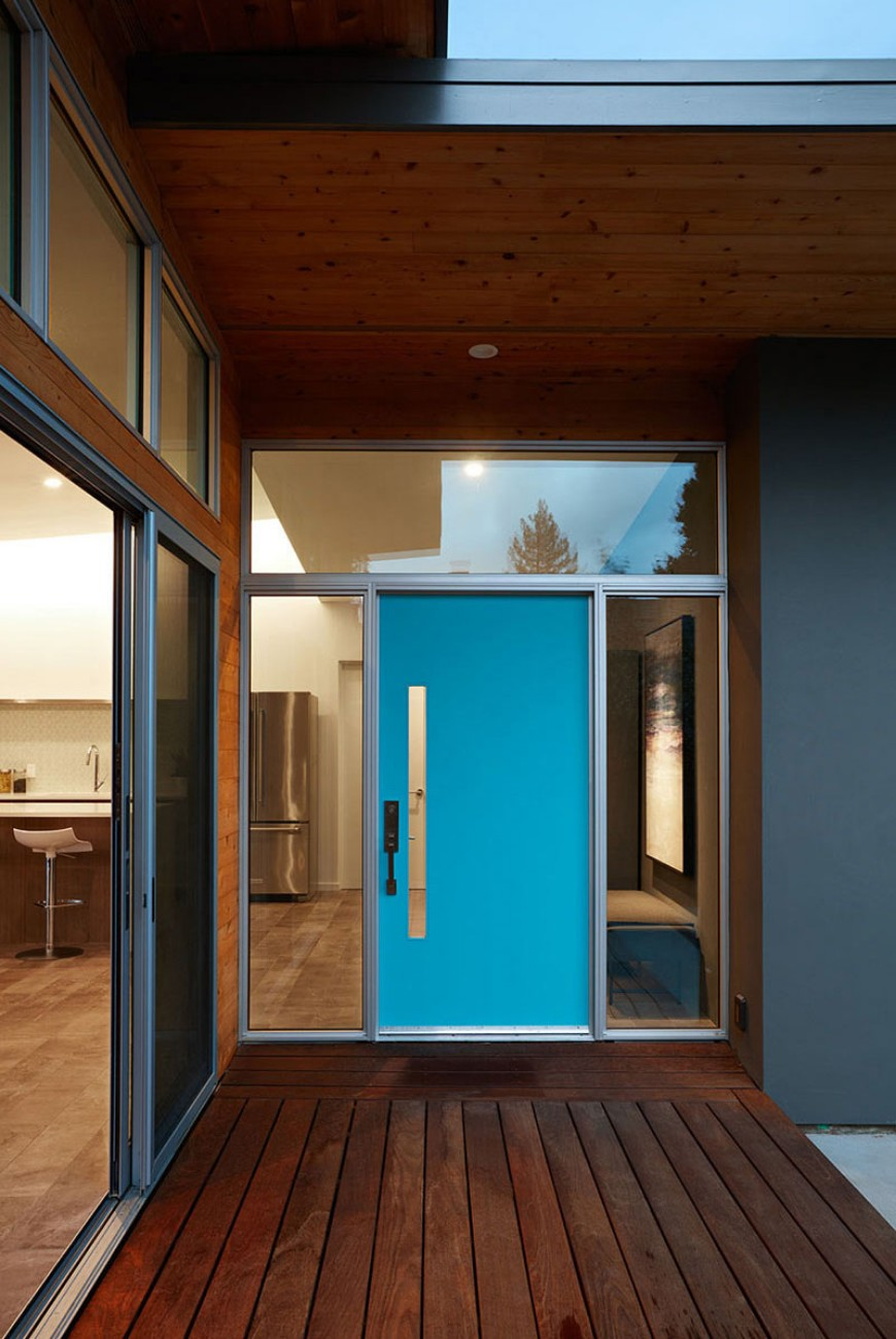Brighten Up your Modern Home with Colorful Doors modern home Brighten Up your Modern Home with Colorful Doors Brighten Up your Modern Home with Colorful Doors 5