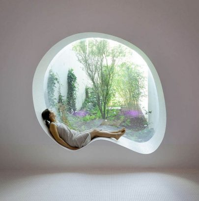 Contemporary Homes with Uniquely Shaped Windows