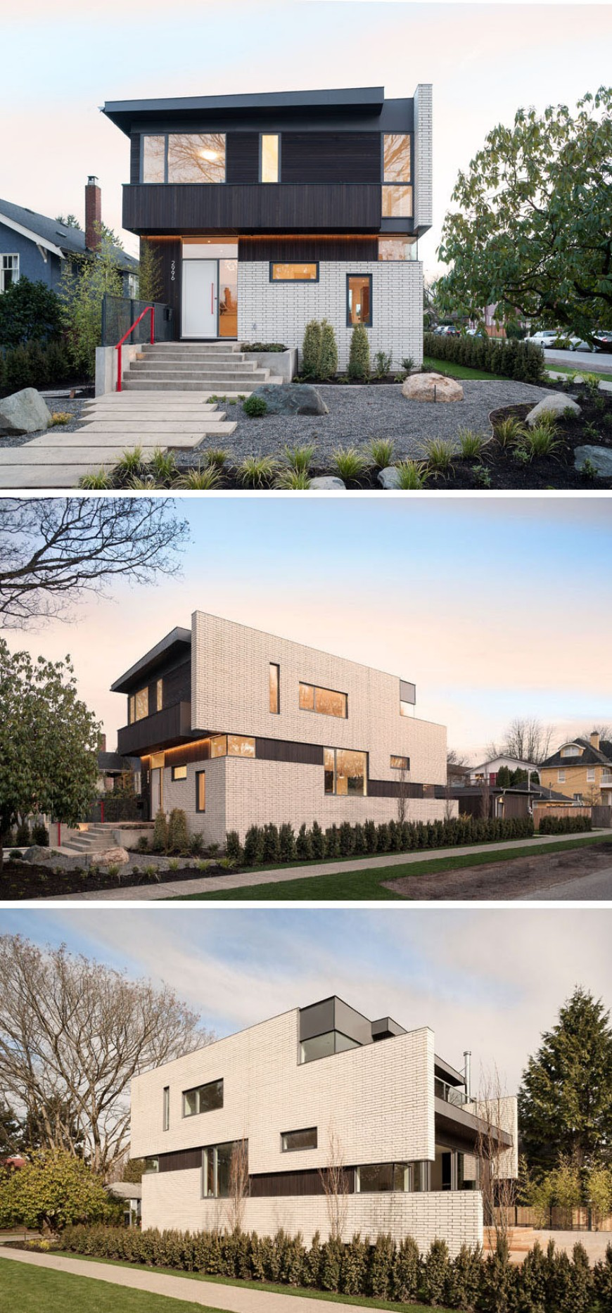 modern houses Fall in Love with these Modern Houses Made of Brick Fall in Love with these Modern Houses Made of Brick