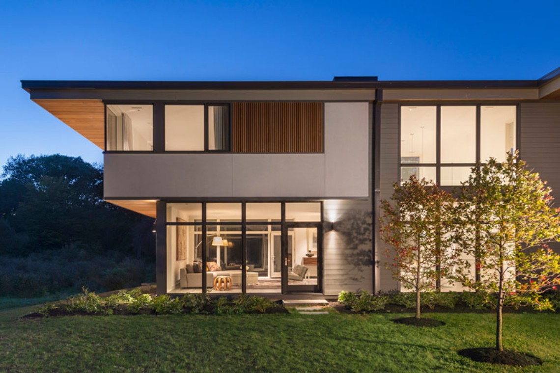 Fall in Love with this Modern Home Surrounded by a Blueberry Farm