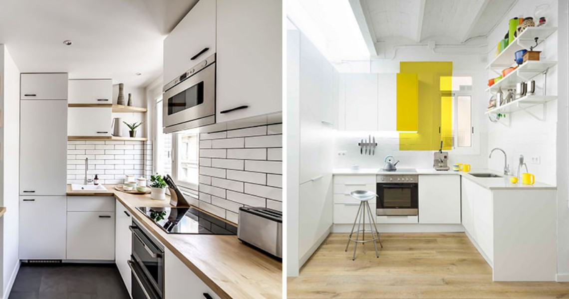 Modern Kitchens That Make The Most Of A Small Space