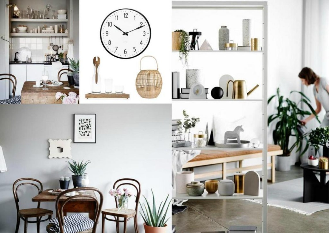 Mood board scandinavian design in home decor modern home decor for Danish design home accessories