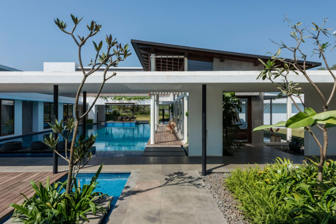 Around the World: Discover this Modern House in India