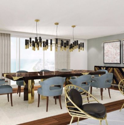 Meet These Light Fixture Ideas for a Modern Dining Room