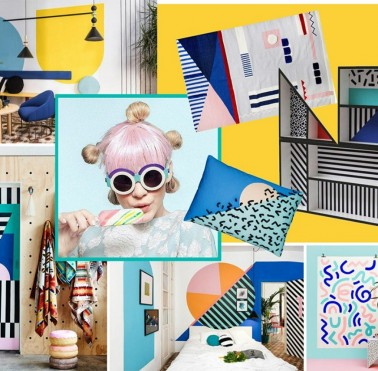 Mood Board: Feel the Colorful Vibe of Memphis Design