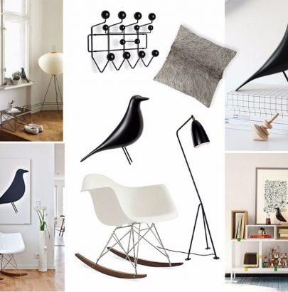 Mood Board: Mid-Century Modern Design in the Eame's World