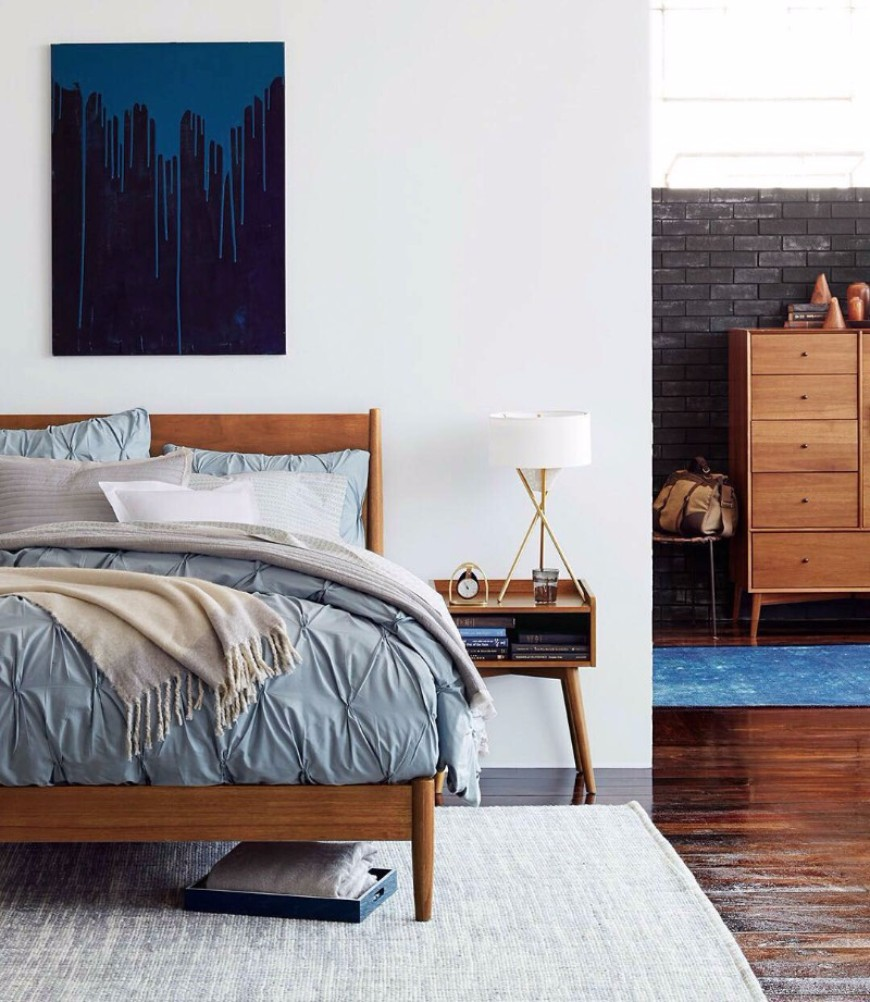 5 Mid-Century Modern Bedrooms That You'll Love | Modern ...