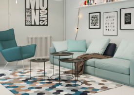 How to Decorate a Modern Home Decor with Rugs