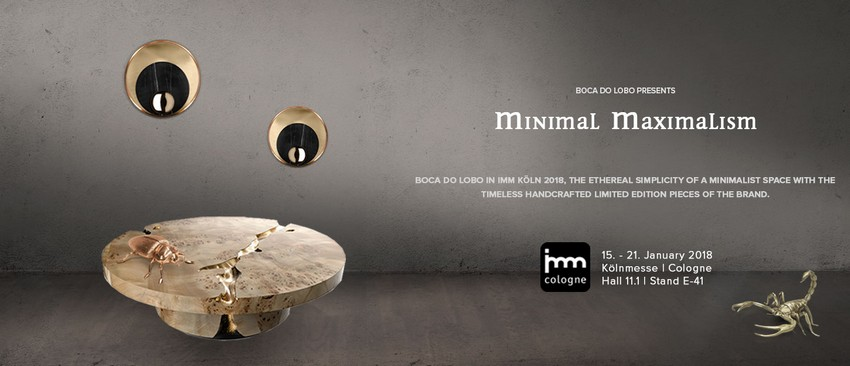 Discover What Boca do Lobo Will Present at Imm Cologne 2018