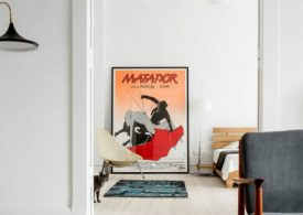 Style and History Mesh Together In A Modern Apartment Design