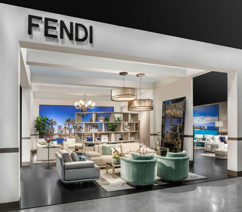 The Showcase of Fendi Casa At Maison et Objet 2018