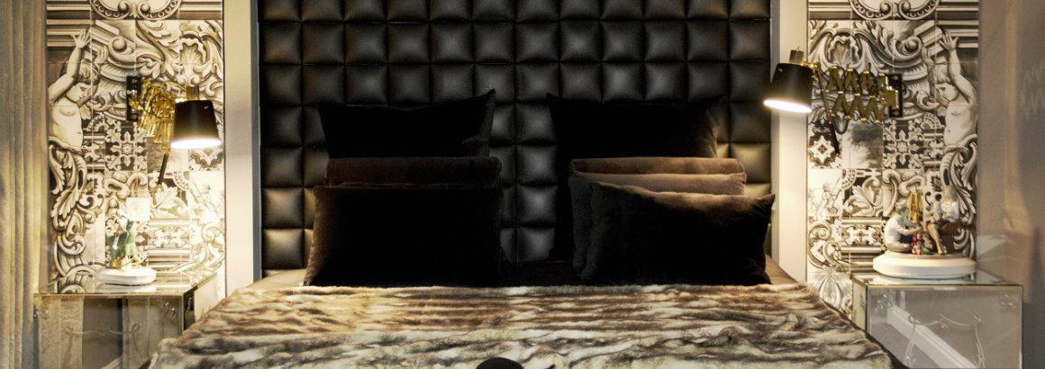 5 Black Master Bedrooms Design Ideas