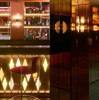 See The Mid-Century Design Of Leo's At The Arts Club London