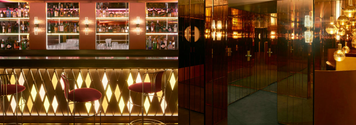 See The Mid-Century Design Of Leo's At The Arts Club London Leo's At The Arts Club London See The Mid-Century Design Of Leo's At The Arts Club London collage 6