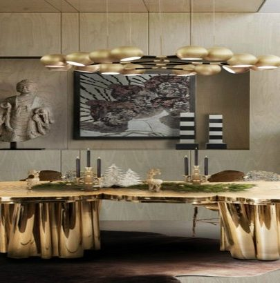 10 Luxury Dining Table Designs You Shouldn't Miss