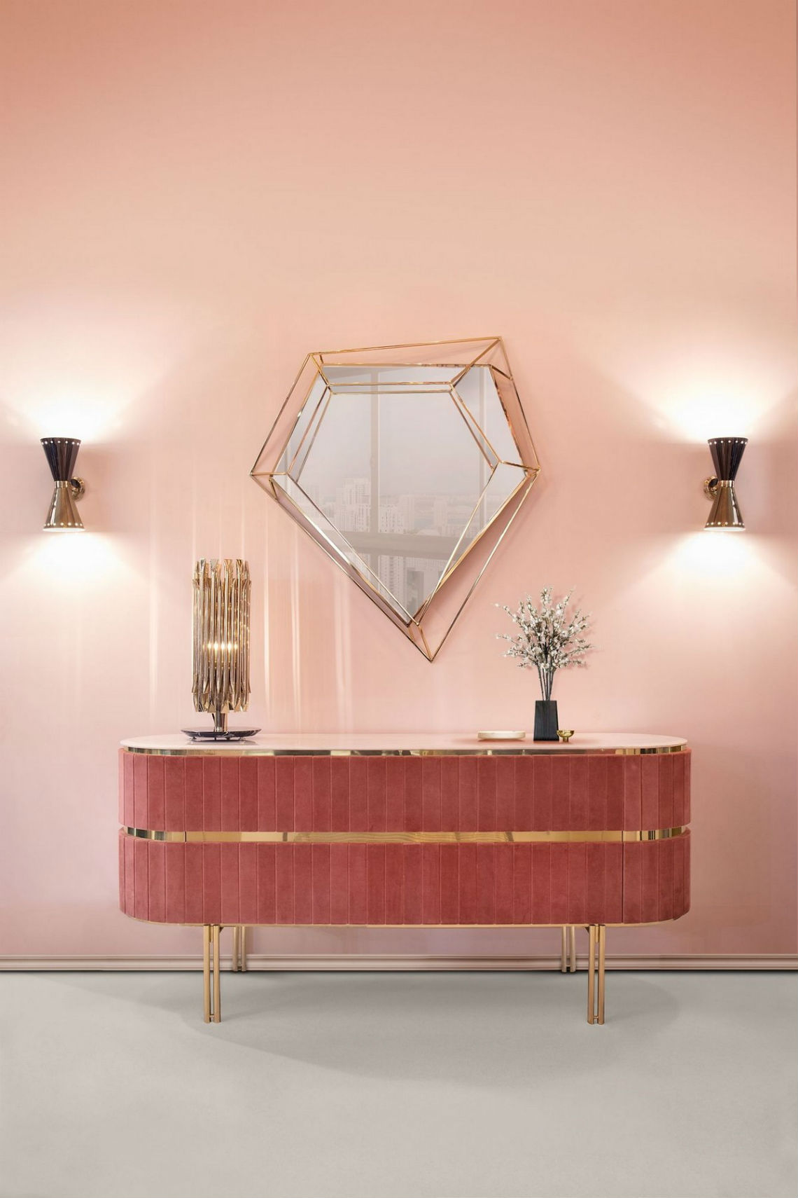 Modern Mirrors To Match Your Living Room Sideboard modern mirrors Modern Mirrors To Match Your Living Room Sideboard 2 5