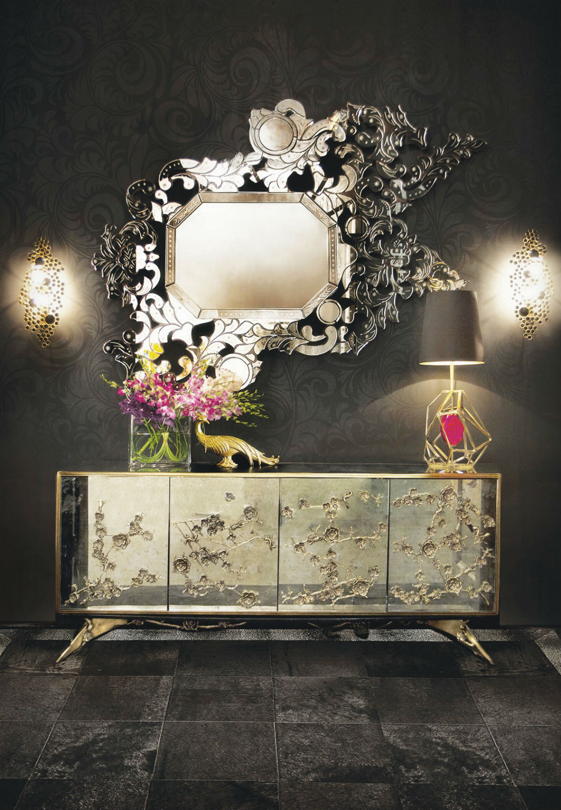 Modern Mirrors To Match Your Living Room Sideboard modern mirrors Modern Mirrors To Match Your Living Room Sideboard 4 5