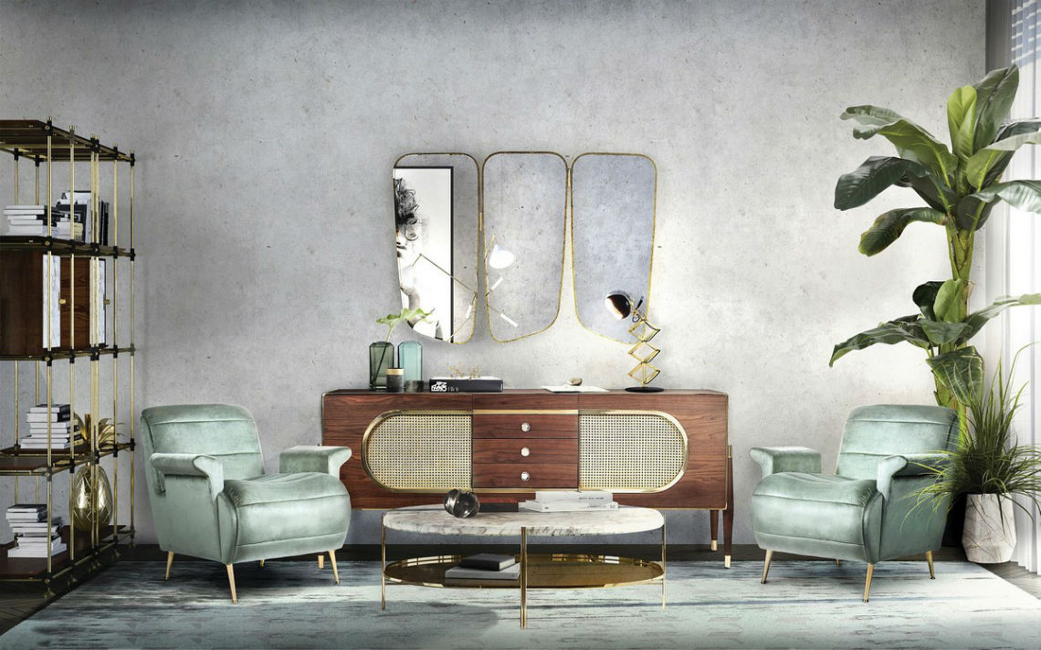 Modern Mirrors To Match Your Living Room Sideboard modern mirrors Modern Mirrors To Match Your Living Room Sideboard 6 4